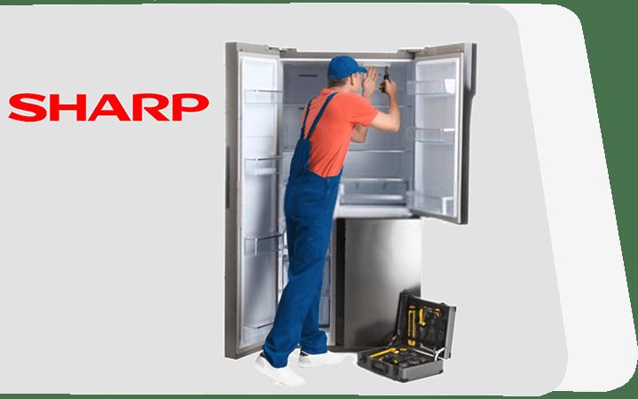 تعمیر یخچال شارپ