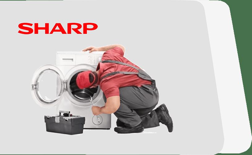 تعمیر ماشین لباسشویی شارپ